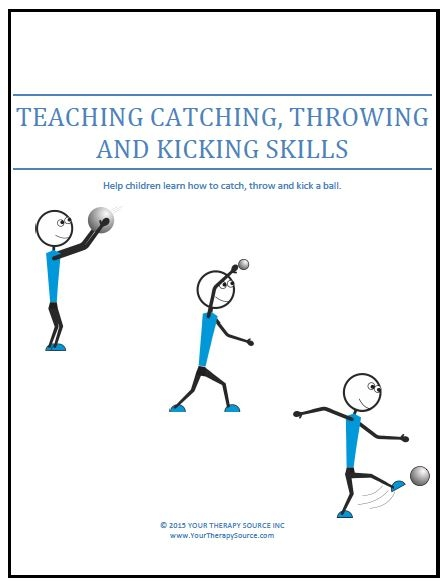 Teaching Catching, Throwing and Kicking Skills