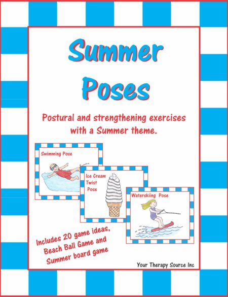 Summer Poses - Postural and Strengthening Exercises with a Summer Theme