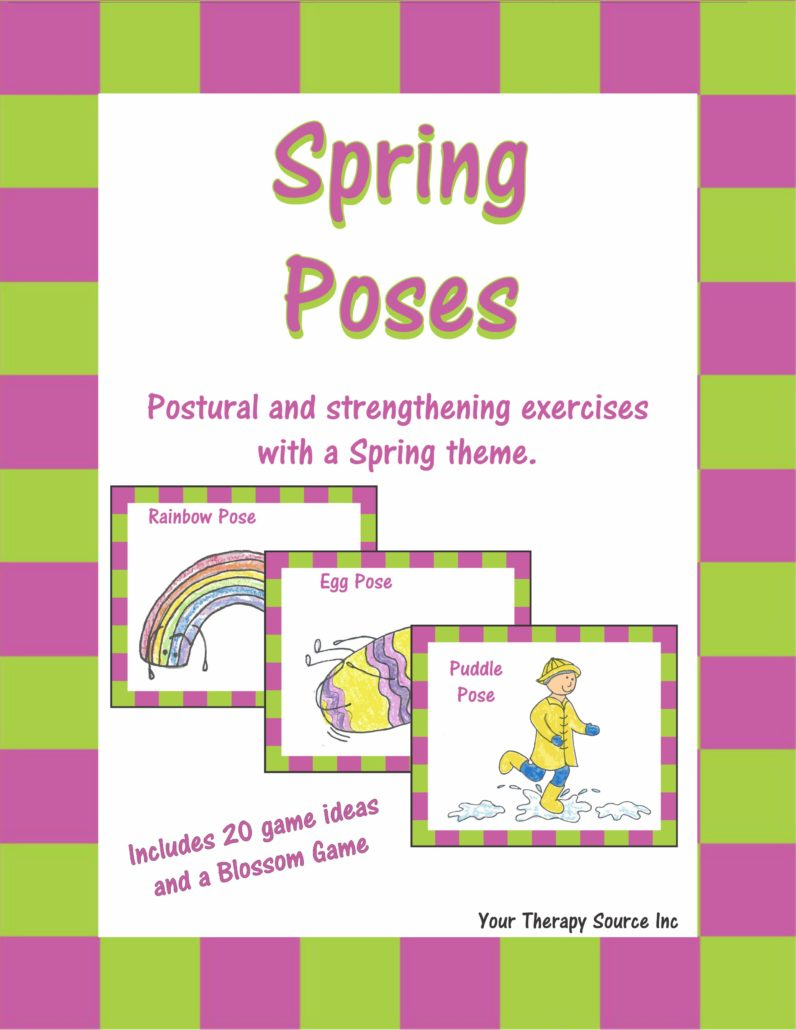 Spring Poses - Postural and Strengthening Exercises with a Spring Theme