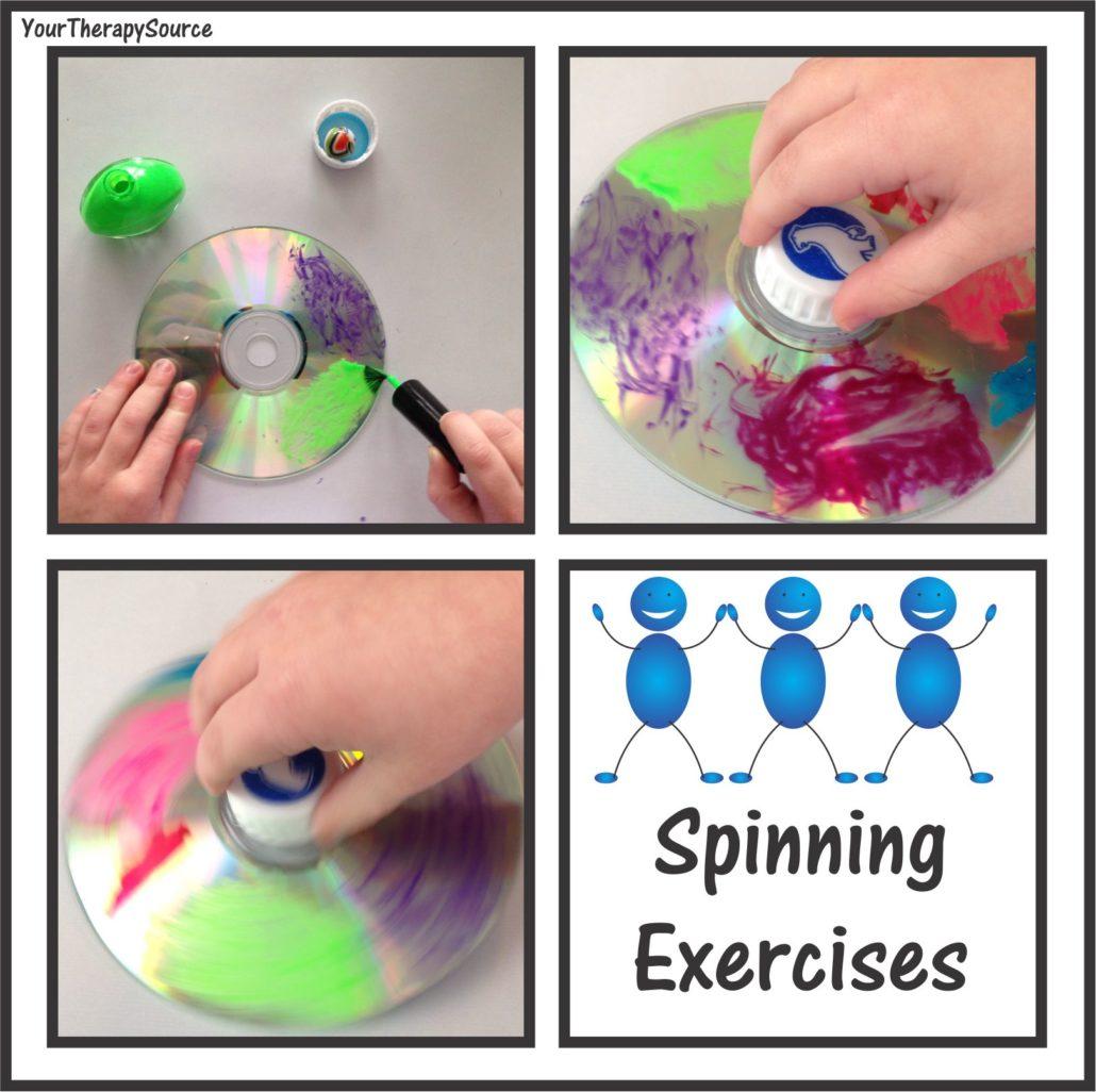 free spinning top