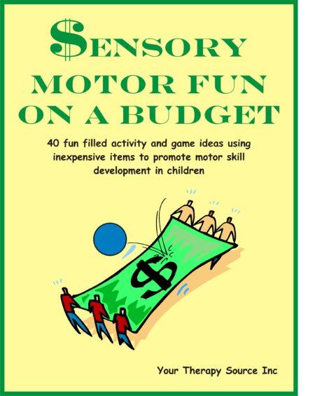 sensory Motor Fun On A Budget