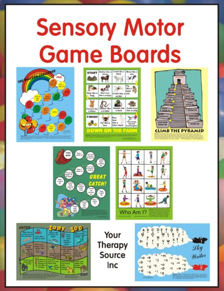 Sensory Motor Game Boards