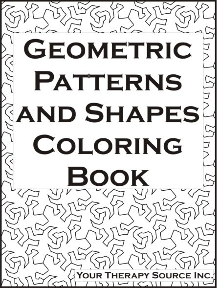 Geometric Patterns and Shapes Coloring Book
