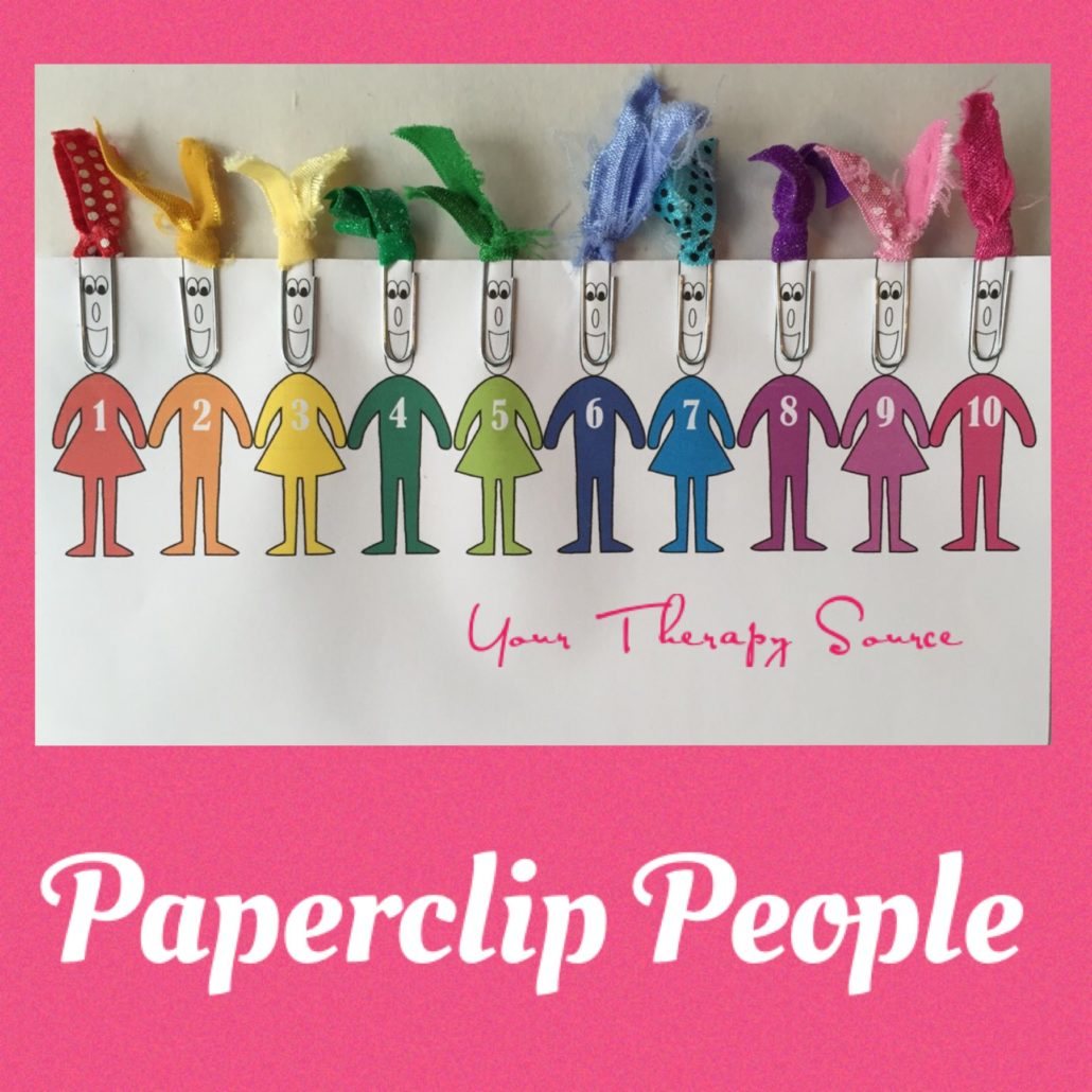 Download Paper Clip People Printable
