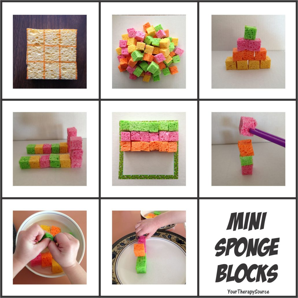 Mini Sponge Blocks