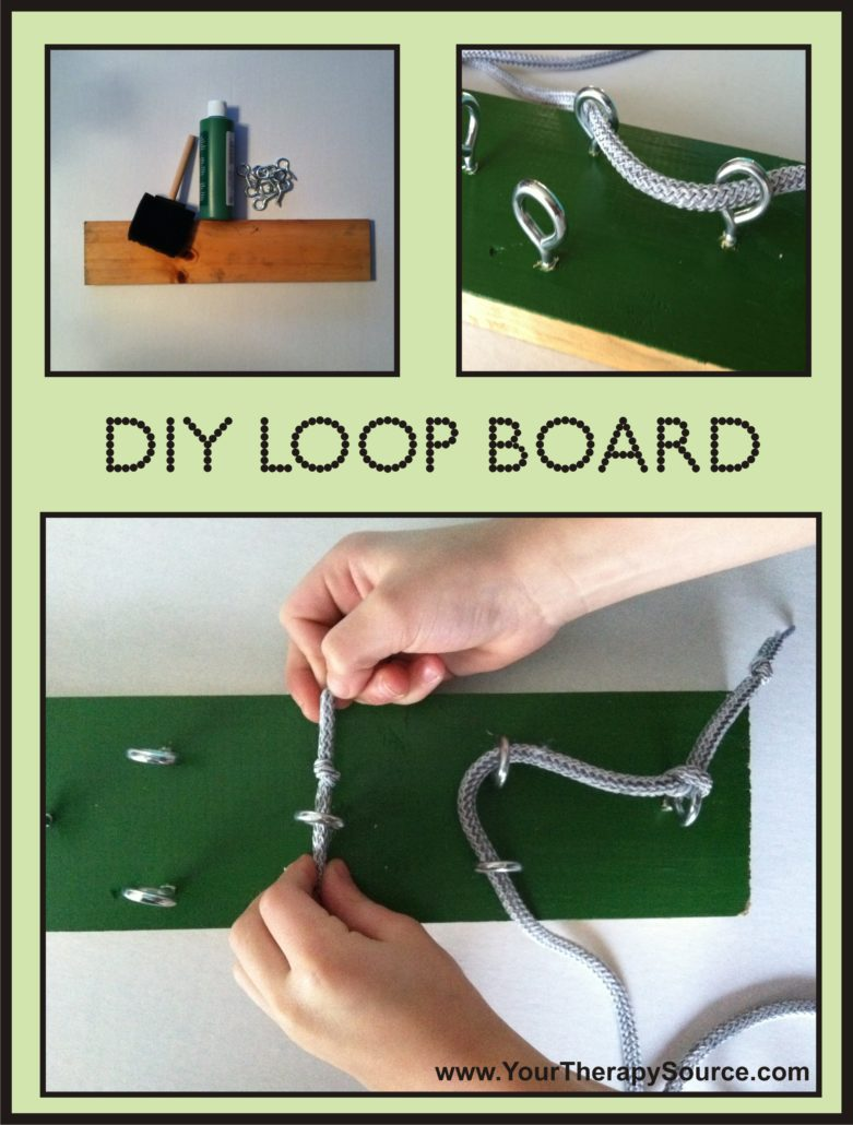 how to make the loop board