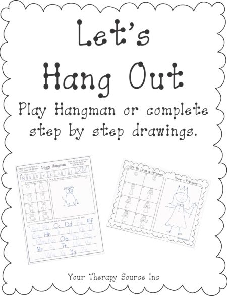 photograph about Printable Hangman identified as Enables Cling Out Canine Hangman and Action Via Move Drawing
