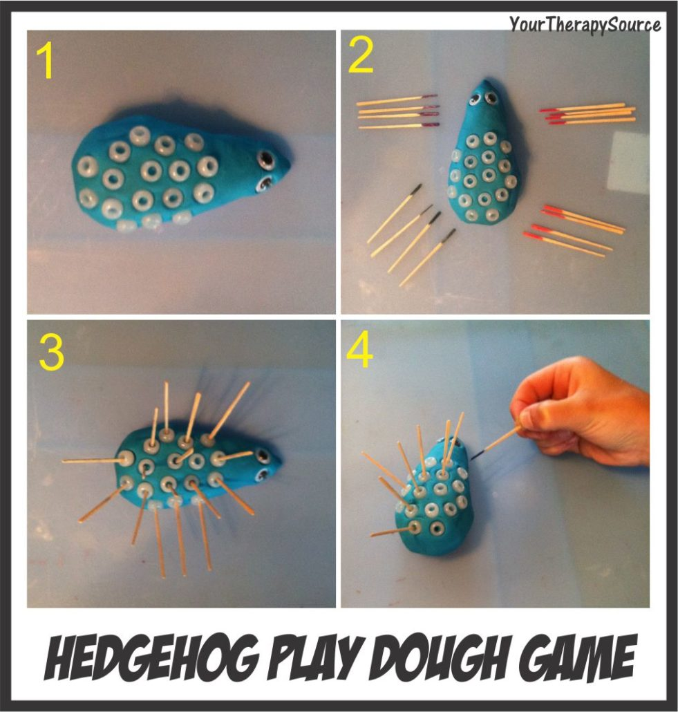 Free Hedgehog Clay Game