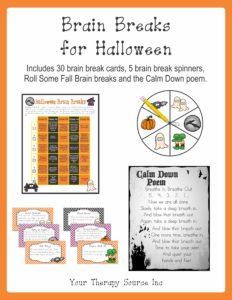 Brain Breaks for Halloween