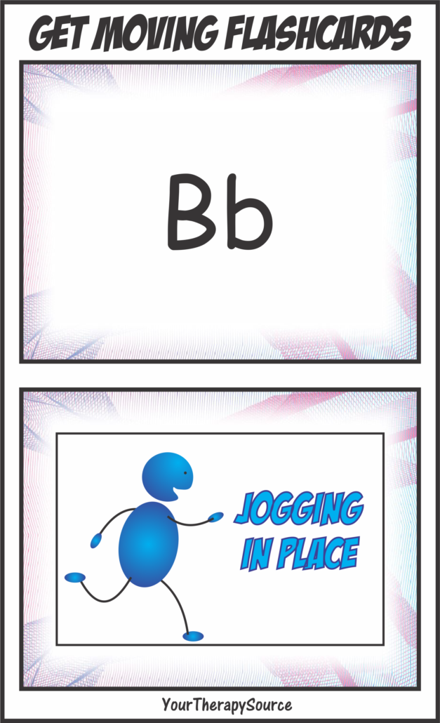 Get Moving Flashcards