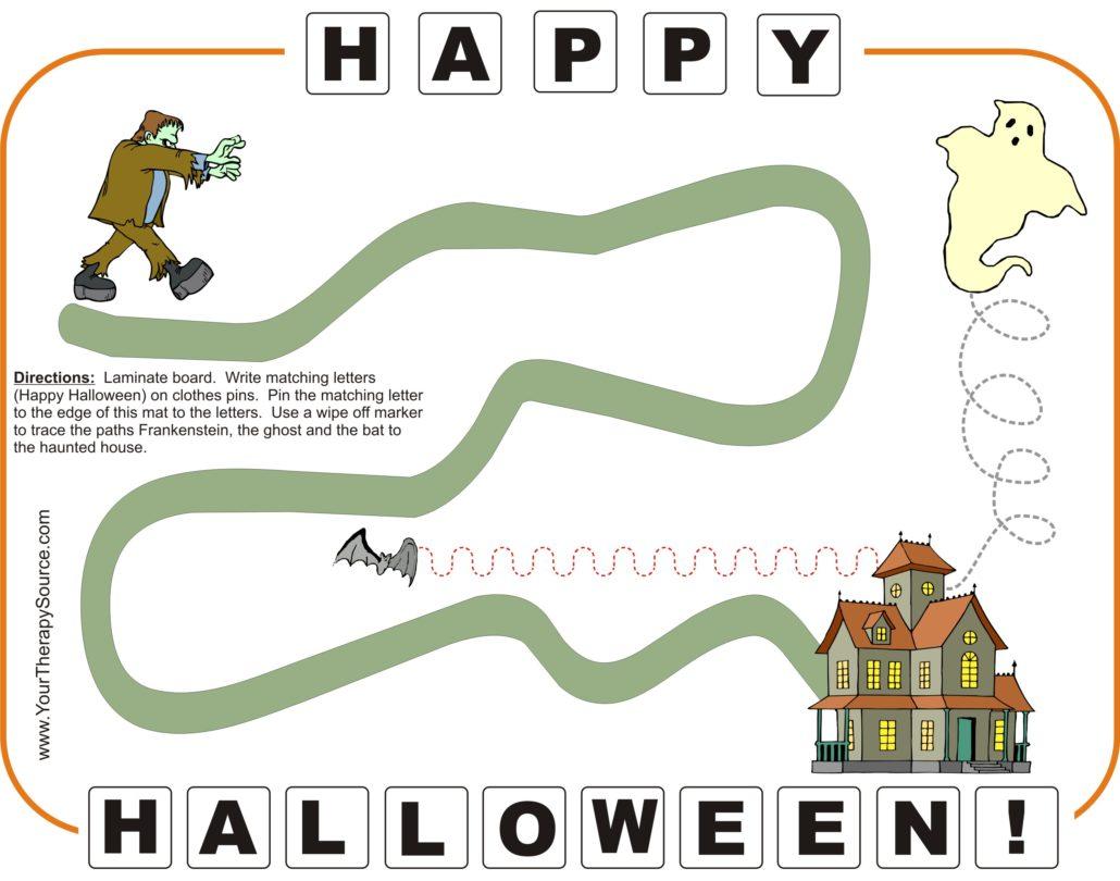 free Halloween mat