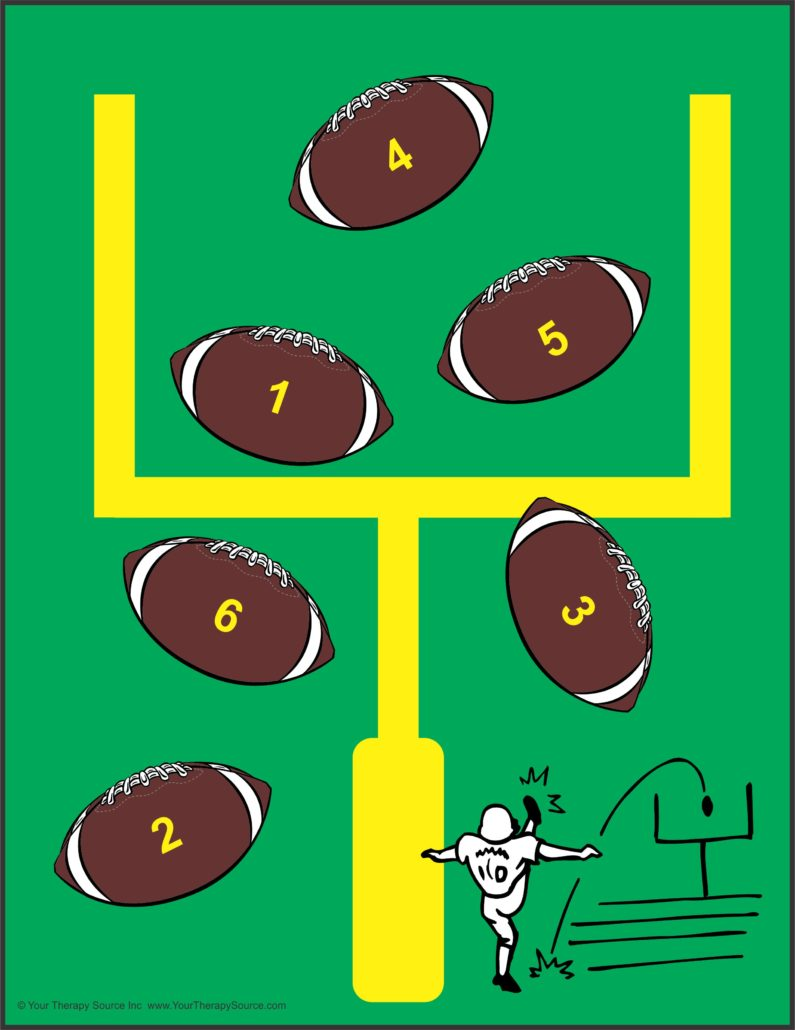 Football Game Printable