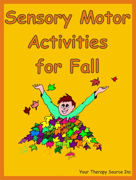 Sensory Motor Activities for Fall