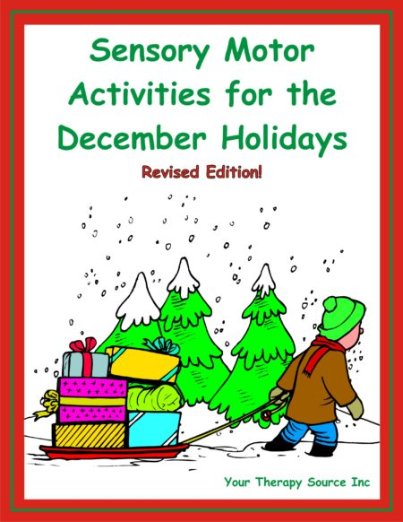 Sensory Motor Activities for the December Holidays