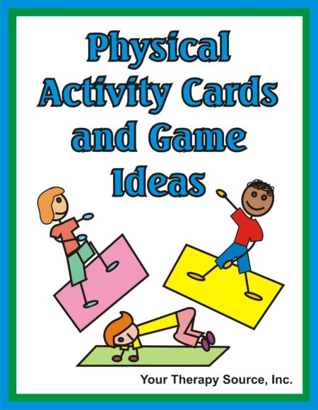Physical Activity Cards and Game Ideas