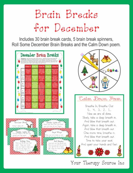 Brain Breaks for December