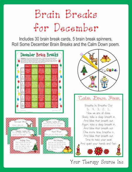Brain Breaks for December