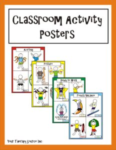 Classroom Activity Posters