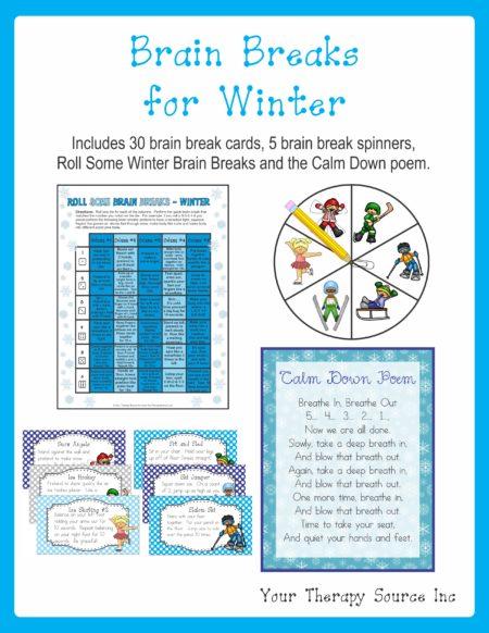 Brain Breaks for Winter