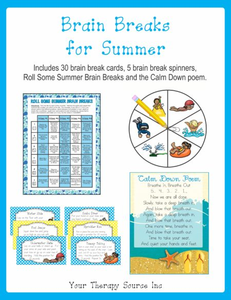 Brain Breaks for Summer