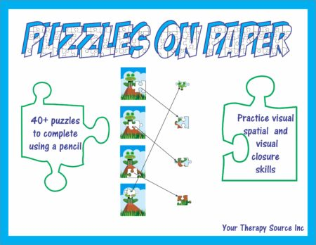 Puzzles on Paper