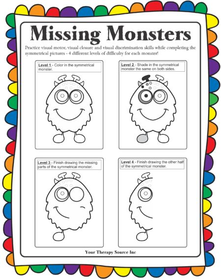 Missing Monsters