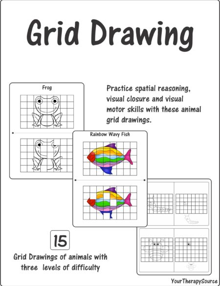 Grid Drawing – Spatial Reasoning