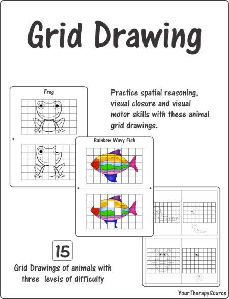 Grid Drawing – Spatial Reasoning