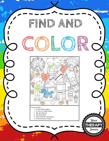 Find and Color
