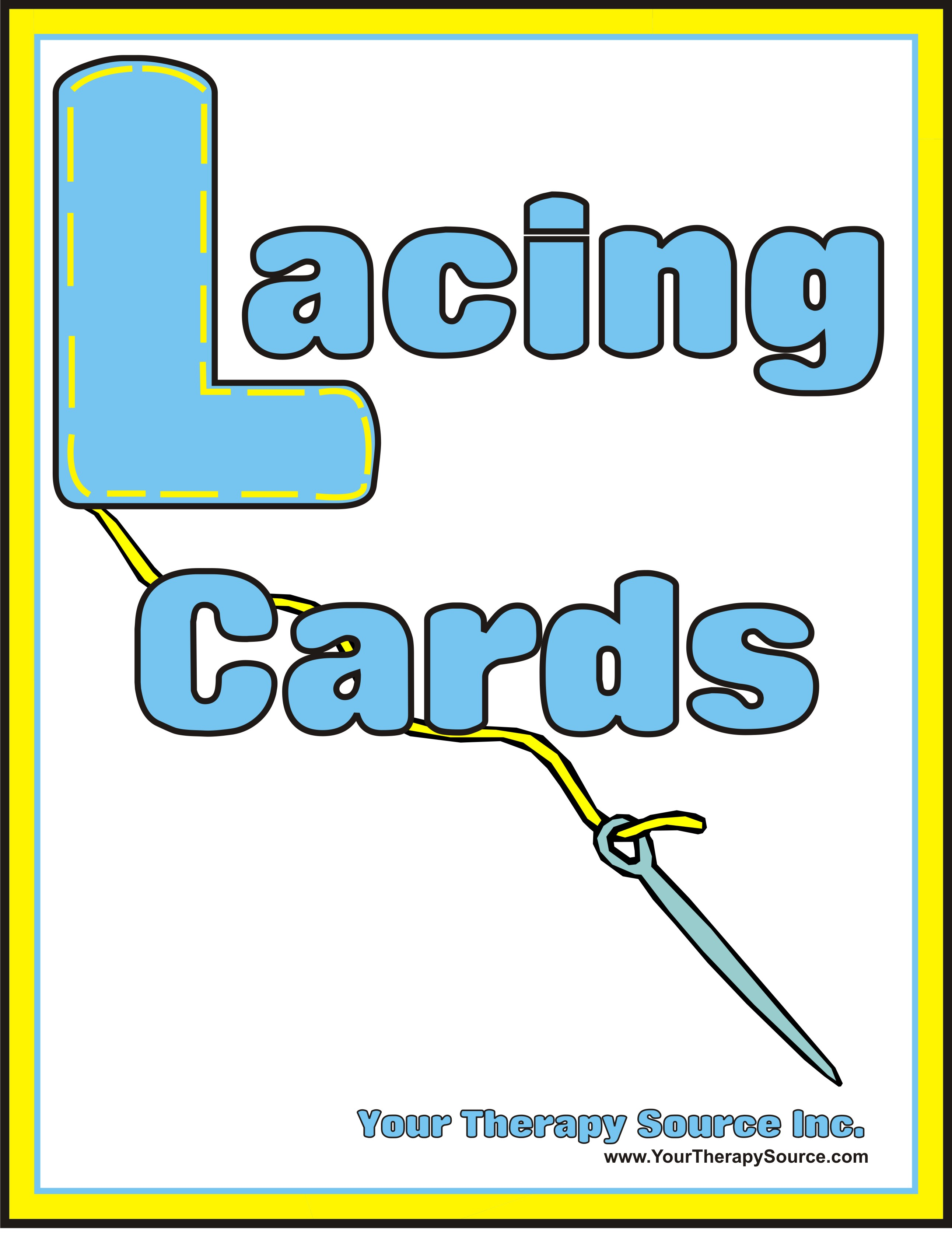 Lacing Cards Your Therapy Source