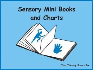 Sensory Mini Books and Charts