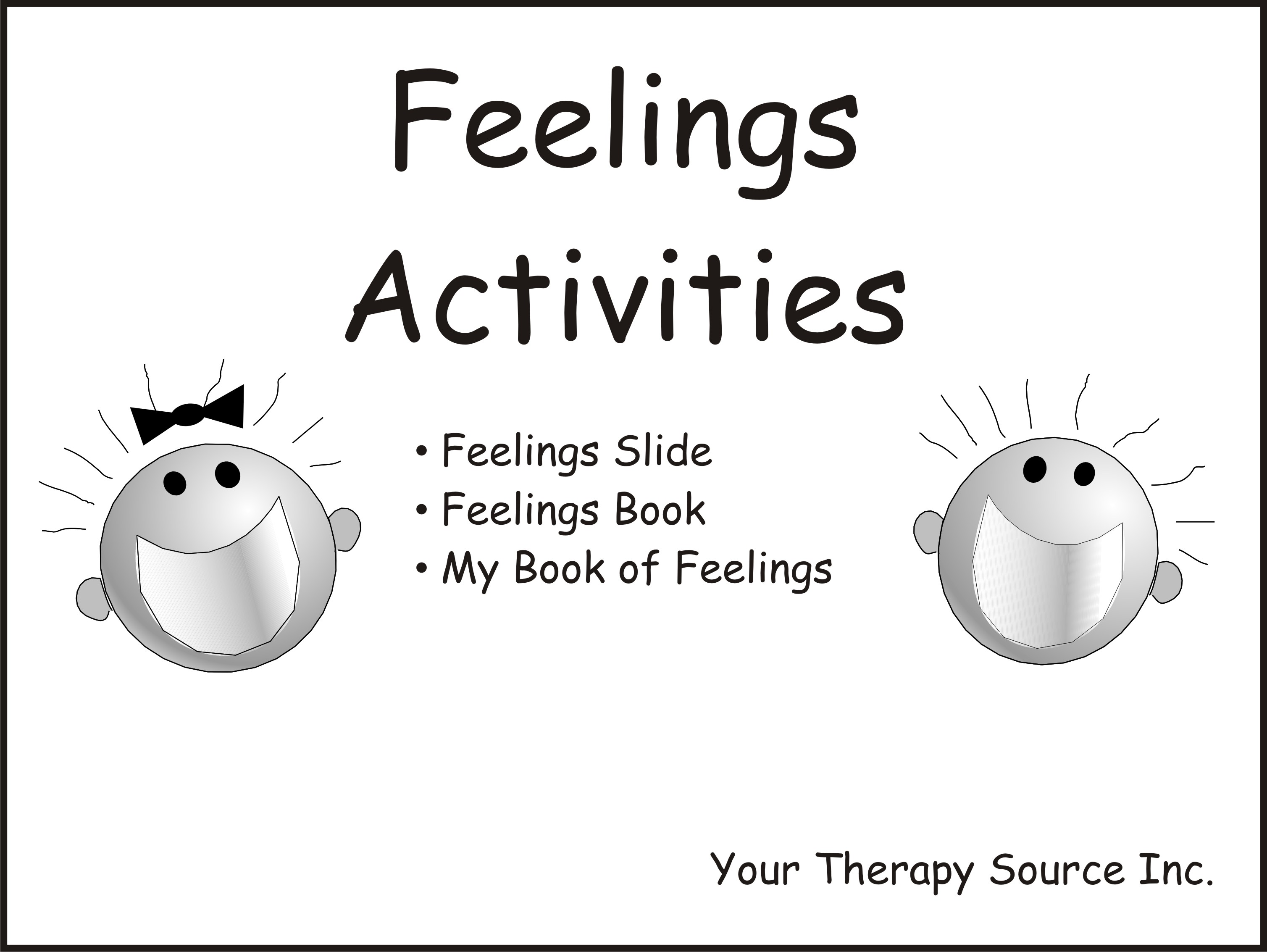 photo regarding Feelings Book Printable identified as Emotions Functions