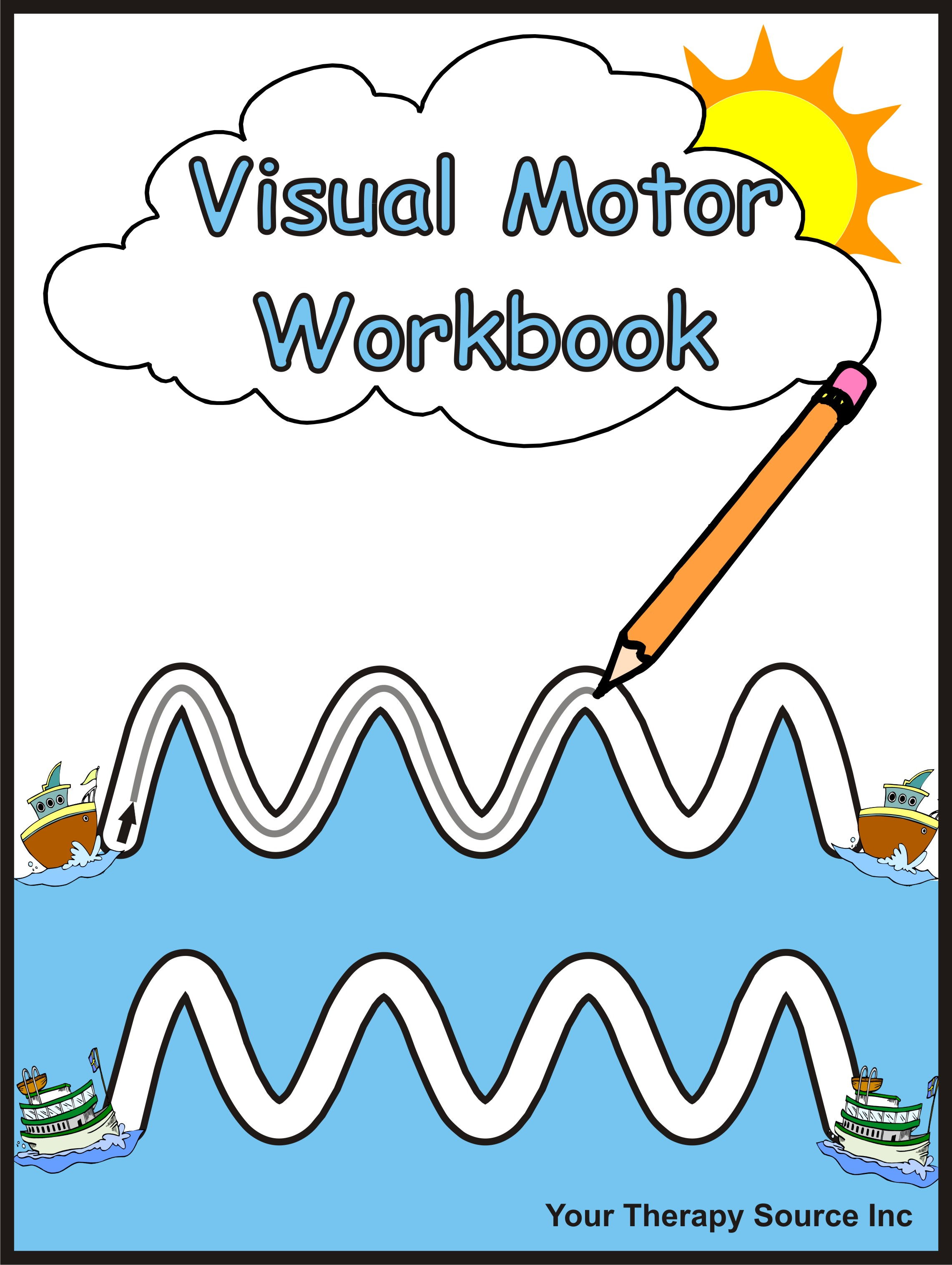Visual Motor Workbook - Your Therapy Source