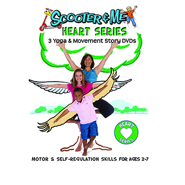 Heart Series: 3 Yoga/Movement Story Videos for Calm, Caring & Confidence