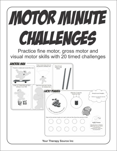 Motor Minute Challenges by Your Therapy Source