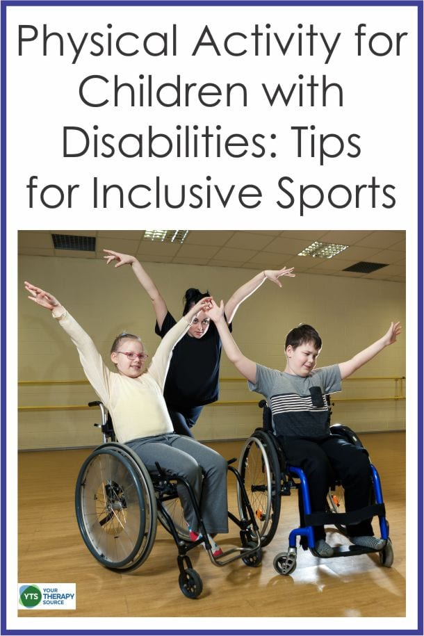 We are aware of the importance of physical activity for children with disabilities but research indicates children don't stick with inclusion sports.