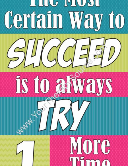 The Most Certain Way To Succeed