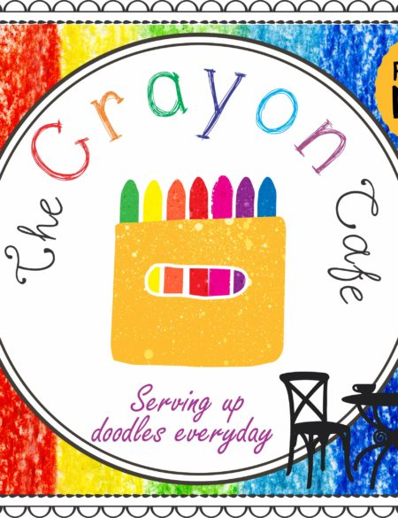 The Crayon Cafe - Fast Food Menu