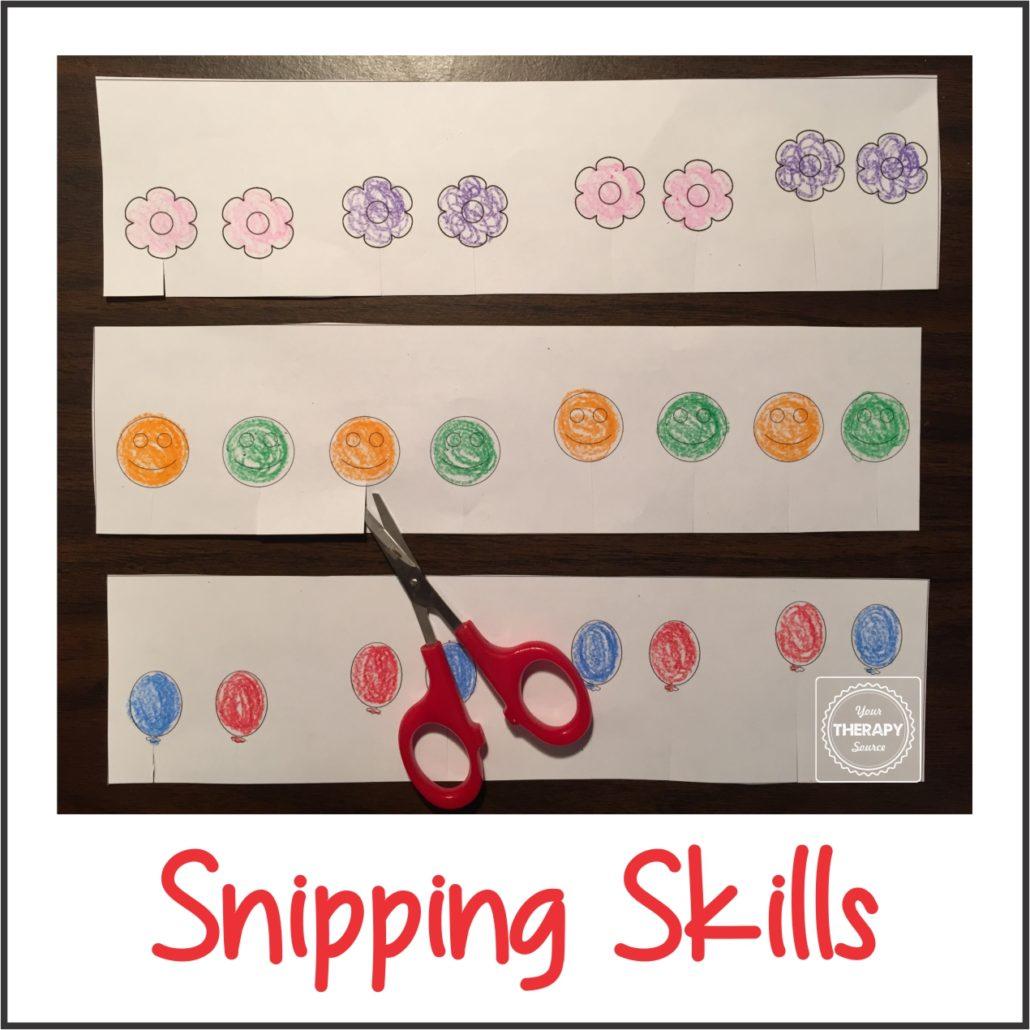 Snipping Skills Freebie