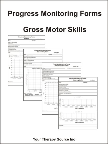 Progress Monitoring Forms – Gross Motor Skills