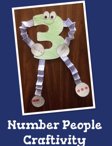 Number People Craftivity