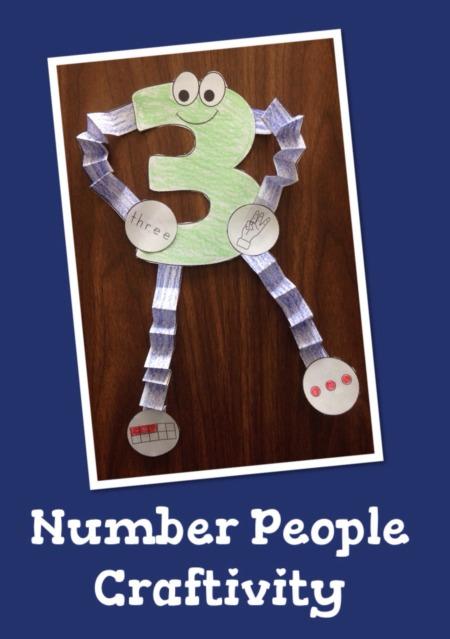 Number People Craftivity