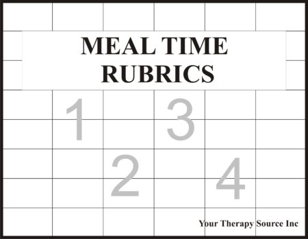 Meal Time Rubrics