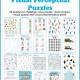 Winter Visual Perceptual Puzzles