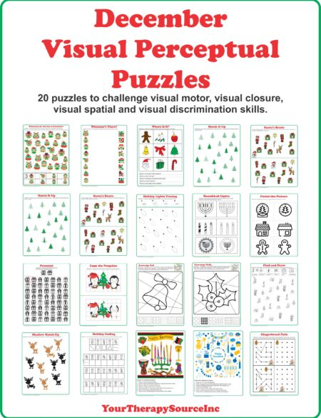 December Visual Perceptual Puzzles