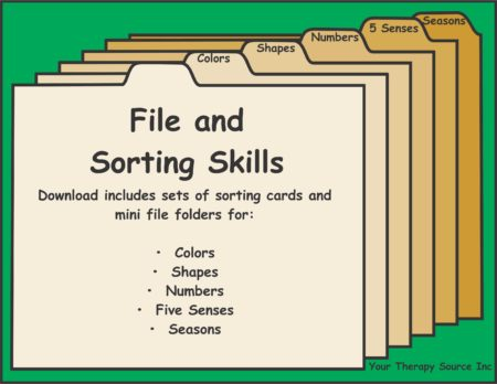 File and Sorting Skills