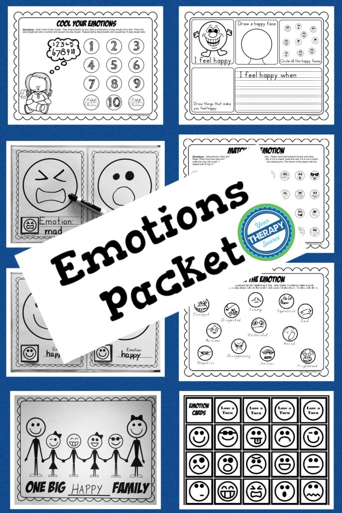Emotions Packet