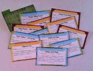 Occupational Therapy Reminders: Handwriting, Organization and Scissor Skills