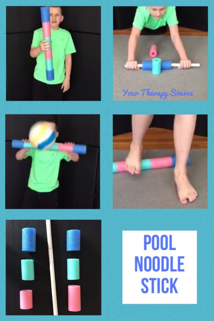 Pool Noodle Stick from YourTherapySource.com