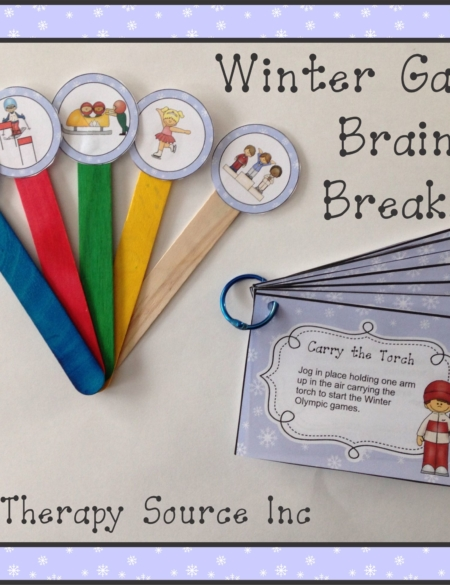 Winter Olympic Games Brain Breaks
